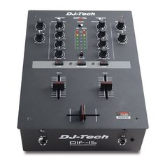 DJ Tech DIF-1S V2 Battle Mixer with Mini Innofader Crossfader