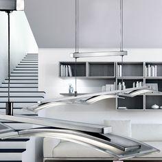 Amazing Details Zu LED Jojo Luxus Pendel Leuchte Glas Höhen Verstellbar Esszimmer  Hänge Lampe IP20