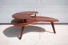 Bissman Solid Walnut Coffee Table