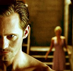 True Blood - Eric Northman with a devious glint in his eyes.