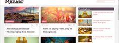 Mansar is a Free WordPress theme designed to be used on blogging WordPress websites.