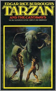 Tarzan and the Castaways | Cover art by Neal Adams andBoris Vallejo