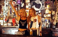 Coyote Ugly: I'm pretty sure I was wayyy to young to watch this, but oh well.