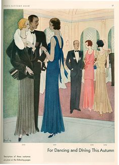 Vogue 1930 1930s Uk Cc Pattern Books Drawing The Advertising Archives.