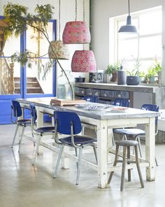 I want this table, different chairs but definitely love the table