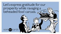 Funny Happy Thanksgiving Pictures | Thanks And Stuff..Pass The Stuffing.