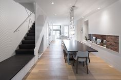 Completed in 2015 in Toronto, Canada. Images by Revelateur studio . The Junction Shadow House is a semi-detached residential dwelling that began as a mirror-image of its attached neighbour. Early in the design...