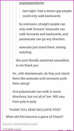 Sexualities in a nutshell