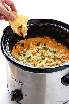 This is my all-time favorite buffalo chicken dip recipe!  It's full of big flavors, and extra-easy when made in the crock pot.  Win-win. :) This weekend, Henry and I made a quick road trip down to Wichita for an extra special celebration — my parents' 60th birthday party! But of course, knowing my parents, it wasn't just …