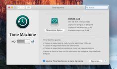 Cómo quitar copias de seguridad de Time Machine