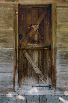 Love this Rustic,Country looking door <3