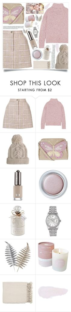 """""""style"""" by lena-volodivchyk ❤ liked on Polyvore featuring Natasha Zinko, J.Crew, Mint Velvet, Accessorize, Shiseido, Rolex, Anastasia Beverly Hills and Topshop"""
