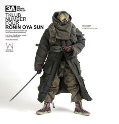 ThreeA Popbot Tomorrow Kings by Ashley Wood, Cyberpunk Fashion, Cyberpunk Art, Character Concept, Character Art, Apocalypse, Arte Zombie, By Any Means Necessary, Apocalyptic Fashion