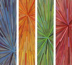 """David Poppie - 27"""" x 24"""" made of colored pencils"""