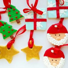 Decoração da árvore de Natal! Bolachinhas super giras e deliciosas! www.bolinhosamedida.com