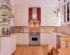 Home in San Francisco 2 - traditional - kitchen - san francisco - Kearney & O'Banion Inc.
