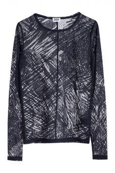 WEEKDAY, CLUB LOCK MESH TEE: i need more mesh shirts in my life.