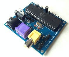 This instructable will document and explain my latest project, a standalone computer system based upon a single chip (IC); the ATmega 1284P. The 1284P is responsible for all aspects of the system, including running the BASIC interpreter, generation RCA video signals and reading keyboard input. This computer system runs TinyBASIC just like my Arduino BASIC Shield but this project is completely standalone meaning no Arduino is needed and only a single AVR is needed. This single chip computer…