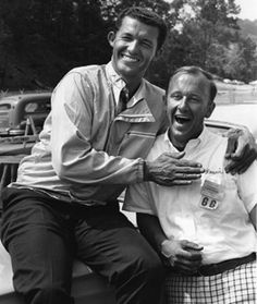 Ronnie Sox on the right pictured here with a young Richard Petty