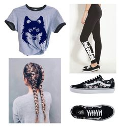 """""""Untitled #286"""" by penguin-pope on Polyvore featuring beauty and Vans"""