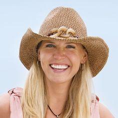 b83390f40c0a3 Wallaroo Hat Sierra Cowboy Western Mixed Brown One Size Adjustable Packable  Uv Swimwear