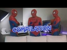 New Spiderman in real life fight and prank funny movie for kids feat Cat...