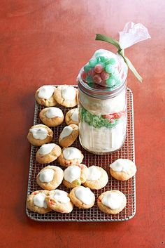 The foodie and sweet tooth-lovers in your life are going to absolutely love you after getting a homemade cookie mix in a jar. Try these cookie-in-a-jar recipes when you're in need of a creative addition to your cookie exchange party or a tasty gift #cookiesinajar #masonjargifts #christmasgiftideas #christmasgiftsforfriends #holidaybaking #bhg Mason Jar Cookie Recipes, Cookie Mix Jar, Mason Jar Cookies, Mason Jar Meals, Jar Recipes, Meals In A Jar, Mason Jar Gifts, Toffee Cookies, Buttery Cookies