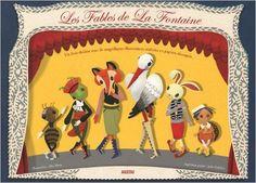 Amazon.fr - FABLES DE LA FONTAINE (papiers découpés en relief) - La Fontaine, Elsa Mora - Livres
