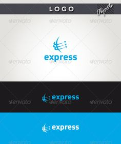 Express  - Logo Design Template Vector #logotype Download it here: http://graphicriver.net/item/express-logo/2377991?s_rank=1403?ref=nesto