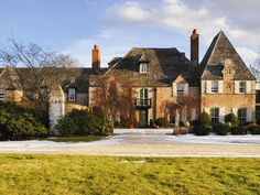 """Buy this castle known as """"The Normandy House"""" in Southampton for $35 million."""