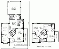 Two Storey House Plan # TS207 - Nauta Home Designs