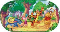 Winnie the Pooh WPSAA040 - Parasol infantil para luna trasera