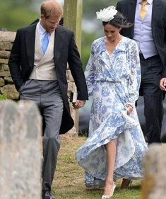Exactly one month after their own wedding, the Duke and Duchess of Sussex attended the nuptials of Harry's cousin Celia McCorquodale and…