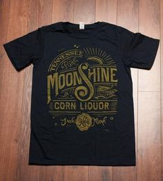 Navy Blue Moonshine T-Shirt