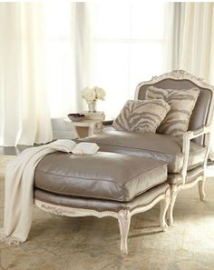 Shop Silver Leather Bergere Chair & Ottoman from Old Hickory Tannery at Horchow, where you'll find new lower shipping on hundreds of home furnishings and gifts. Living Room Chairs, Old Hickory Tannery, Decor, Furnishings, Chair And Ottoman, Chair, Furniture, Home Furniture, Home Decor