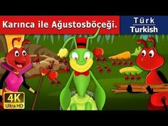 The Ant and the Grasshopper Story - Bedtime Stories - Fairy Tales - U. Urdu Stories, Happy Stories, Stories For Kids, Prince Stories, The Jungle Book, Lion And The Mouse, Tales For Children, Abc Mouse, 12 Dancing Princesses