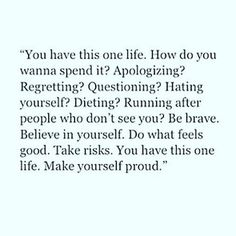 Are you looking for inspiration for positive quotes?Browse around this site for perfect positive quotes inspiration. These amazing quotations will brighten up your day. Now Quotes, Great Quotes, Words Quotes, Quotes To Live By, Sayings, Qoutes, Quotes About Saying No, Too Nice Quotes, More To Life Quotes