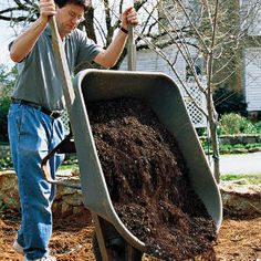 Secret to Perfect Soil - got clay? keep adding the organic material - it does work, but not overnight.
