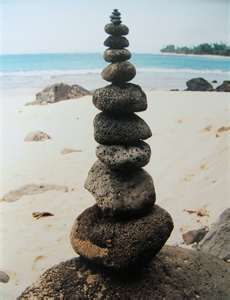 Amazing rock balance