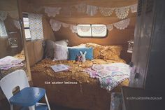The most amazing vintage trailer ever! Click on the picture and look at all the pics!