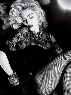 Another beautiful shot from Madonna's avant garde photoshoot