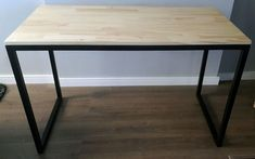 Home Office, Entryway Tables, Furniture, Design, Home Decor, Jr, Google, Wood Slab, Industrial Table