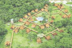 Amazon Rainforest Lodge, un paraíso en medio de la Selva.  En medio de la Selva Peruana encontramos un alberque rústico con diseños típicos de la zona, es el Amazon Rainforest Lodge que permite desconectarse con el mundo y estar en contacto directo con la naturaleza.