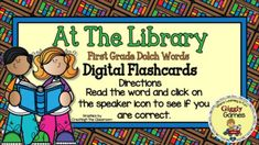 This interactive internet resource makes a fun and educational way to learn or review first-grade sight words. This activity is played in preview mode. The student says the sight word and then clicks on the speaker icon to hear if they are correct. The game is entertaining, encouraging, and self-che... First Grade Sight Words, Folder Games, Early Childhood Education, Learning Centers, Teacher Resources, Social Studies, Language Arts, Encouragement, Internet
