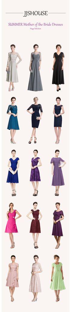 SUMMER Mother of the Bride Dresses Huge Selection+Custom Size!  #MotheroftheBride