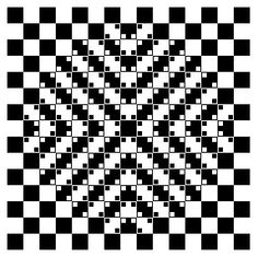 optical illusion - don't you dare tell me those lines are straight!