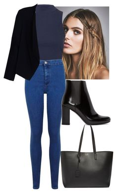 """""""Sin título #862"""" by candiibella ❤ liked on Polyvore featuring moda, Free People, Topshop, Yves Saint Laurent, Miss Selfridge, Alice + Olivia, women's clothing, women, female y woman"""