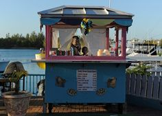 Daddy Brown's Conch stand, Freeport Bahamas, the best conch salad in the Caribbean