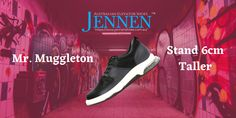 The good news is that with JENNEN's Mr. Muggleton elevated gym shoes, you don't have to sacrifice comfort or practical function for added height. Indeed, these shoes can increase your height by 6cm, plus another 1.2cm if you combine that with one of our comfortable Ezylift insoles. #JENNENShoes #formalshoes #weddingshoes #casualshoes #boots #veganshoes #mensshoes #tallermen #elevatorshoes #heightincreasingshoes #shoes #shoesoftheday