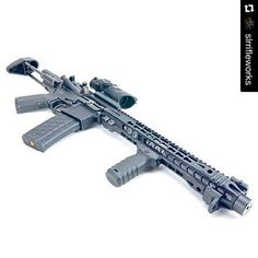 "#Repost @slrrifleworks with @repostapp. ・・・ SLR 8"" Blackout with a SEG Suppressor under our 14"" Solo HG.NEA Shorty stock setup lets it fit in a 28"" bag so transport assembled is easy. #slrrifleworks #cqmgroup #igmilitia #weaponsdaily #dailybadass #gunsbadassery #nfafanatics #gunporn Available for purchasing at - https://www.segsuppressors.com/products/300-blackout.html"